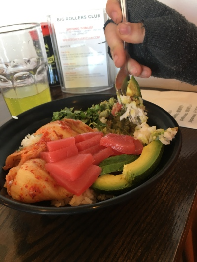 Sushi Bowl from Motomaki