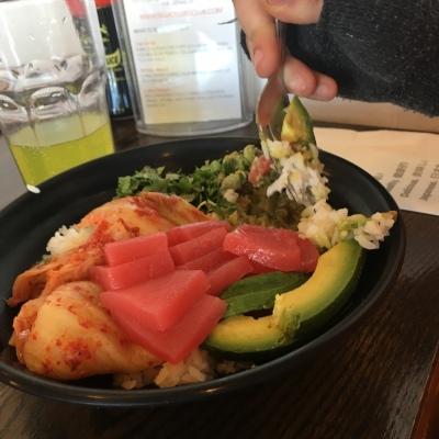 Sushi Bowl from Motomaki