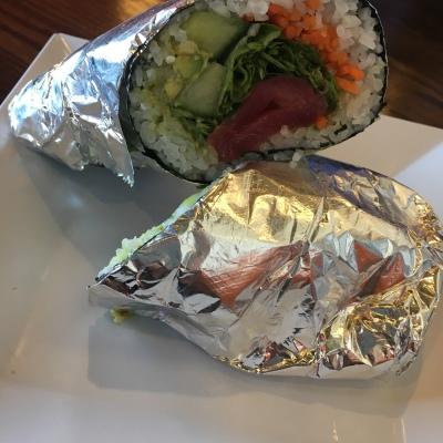 Sushi Burrito from Motomaki