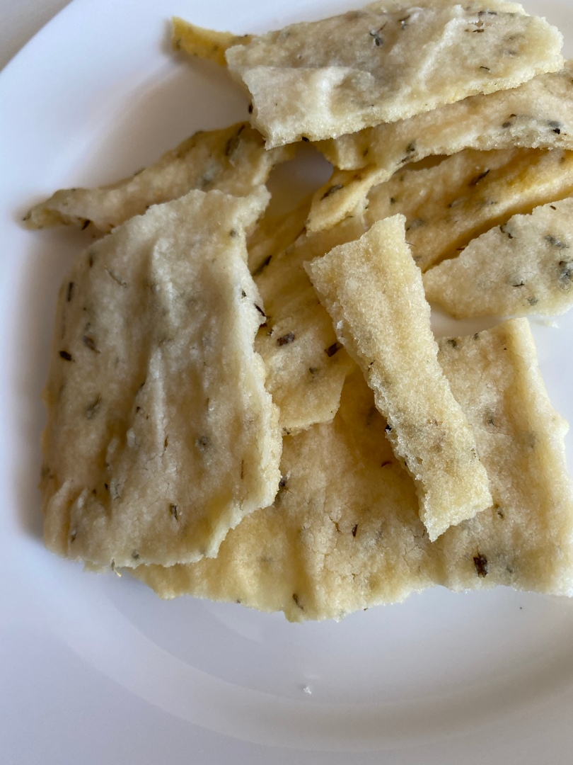 Gluten-Free Sourdough Discard Crackers